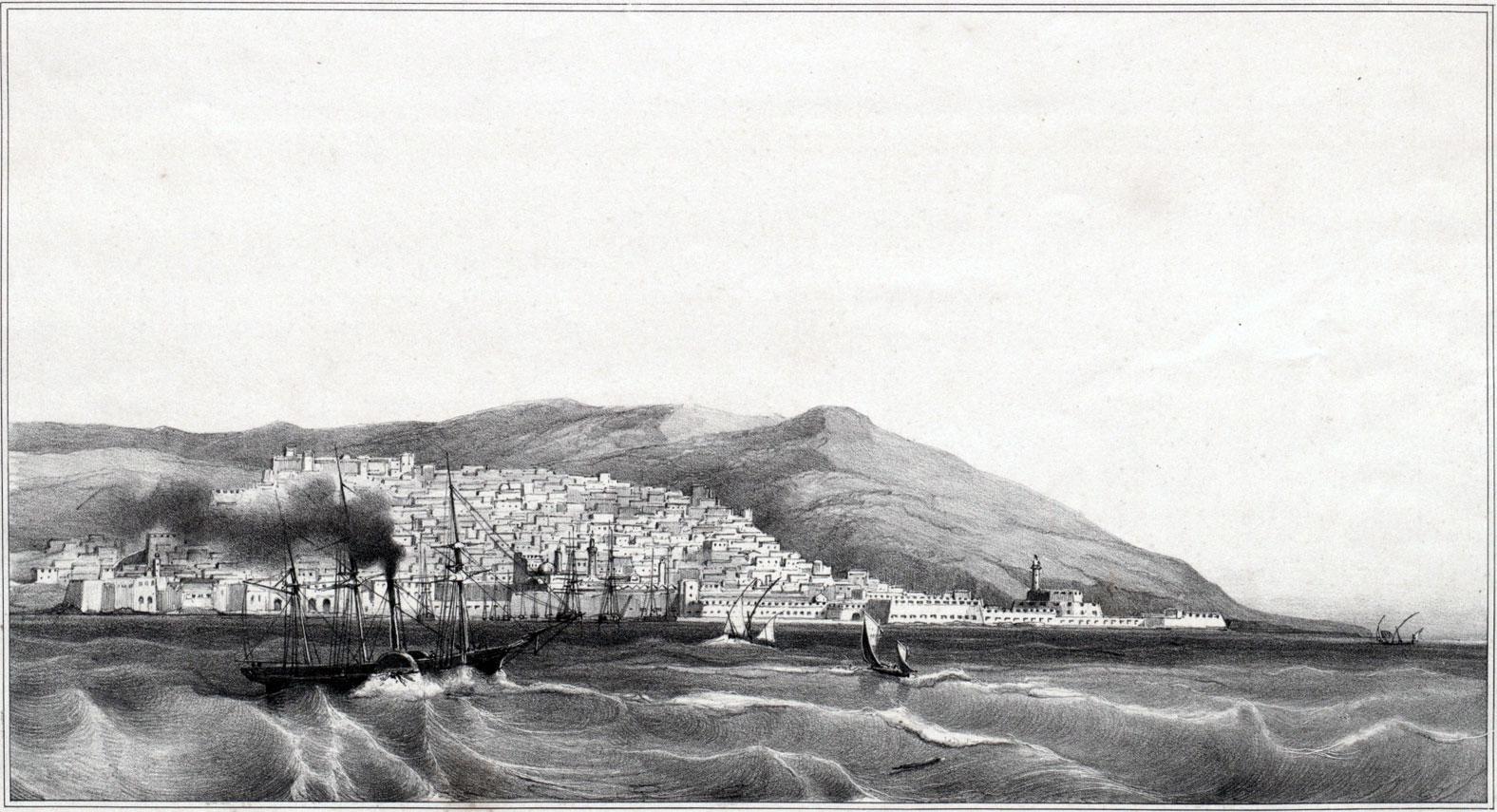 Origine et date du nom Algérie