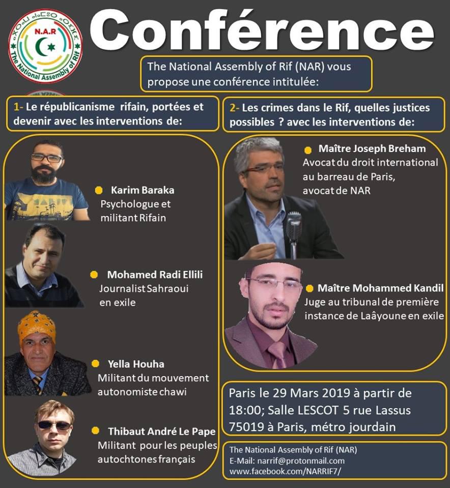 Conférence NAR Paris