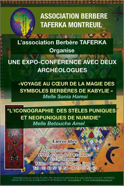 Voyage au coeur de la magie des symboles amazighs de Kabylie - Stèles néo-puniques de Numidie