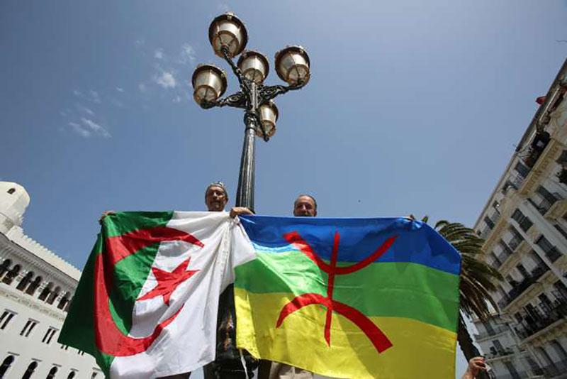 Drapeau amazigh Algérie