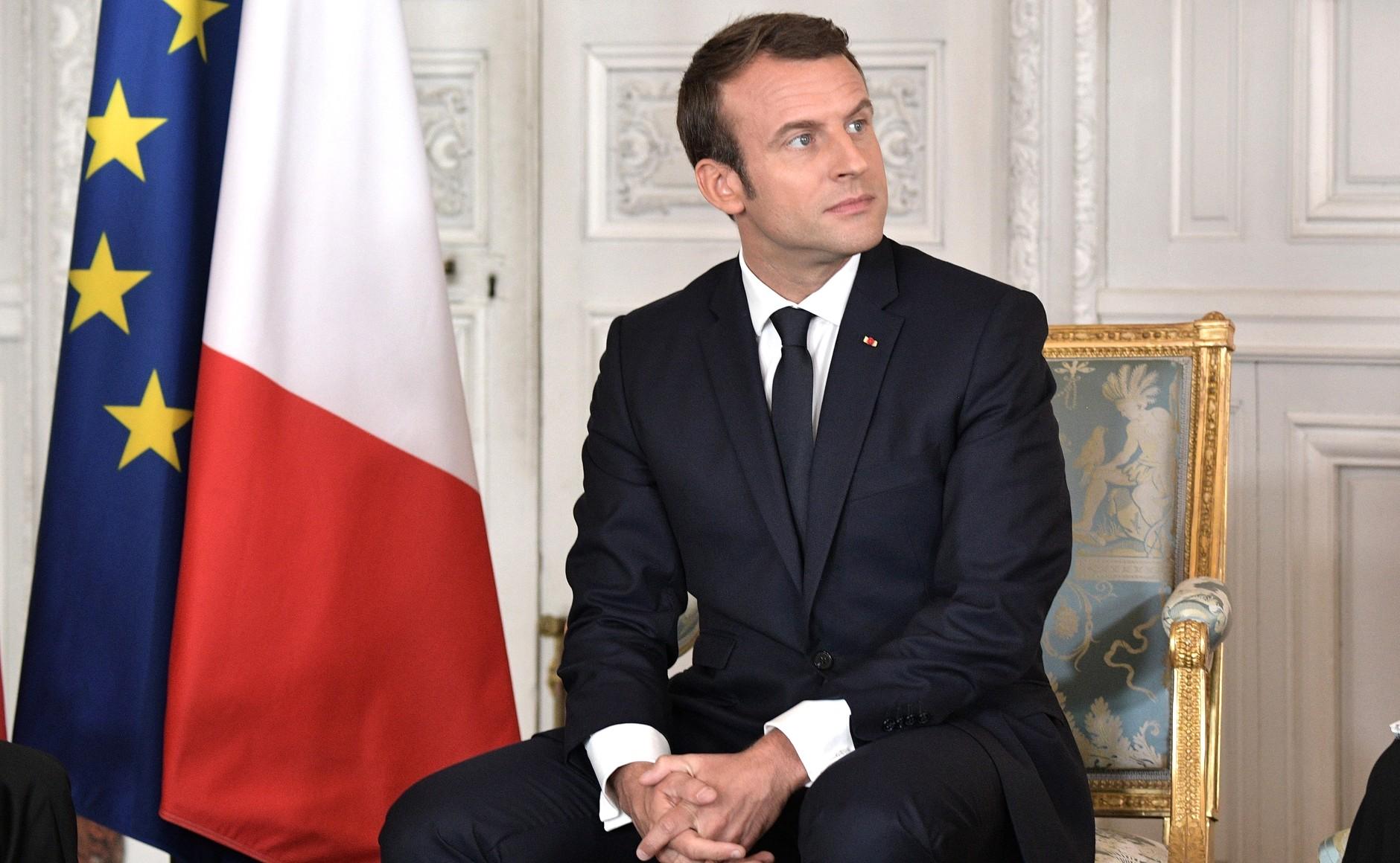 Emmanuel Macron Wikimedia