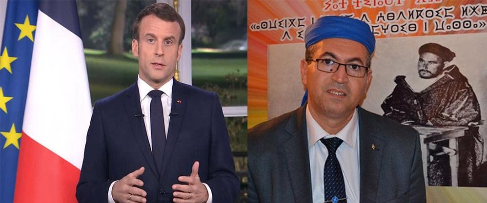 Emmanuel Macron Rachid Raha